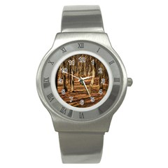 Wood Shadows Stainless Steel Watches by trendistuff