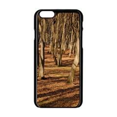 Wood Shadows Apple Iphone 6/6s Black Enamel Case by trendistuff