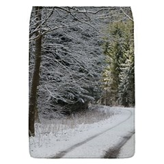 Snow On Road Flap Covers (s)  by trendistuff
