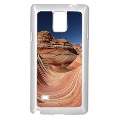 Petrified Sand Dunes Samsung Galaxy Note 4 Case (White) by trendistuff