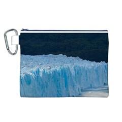 Perito Moreno Glacier Canvas Cosmetic Bag (l) by trendistuff