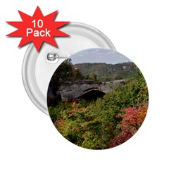Natural Arch 2 25  Buttons (10 Pack)  by trendistuff