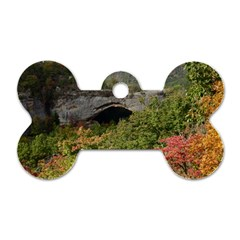 Natural Arch Dog Tag Bone (one Side) by trendistuff