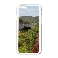 Natural Arch Apple Iphone 6/6s White Enamel Case by trendistuff
