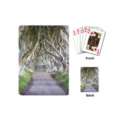 Dark Hedges, Ireland Playing Cards (mini)  by trendistuff