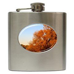 Beautiful Autumn Day Hip Flask (6 Oz) by trendistuff