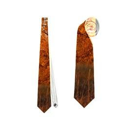 Beautiful Autumn Day Neckties (two Side)  by trendistuff