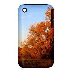 Beautiful Autumn Day Apple Iphone 3g/3gs Hardshell Case (pc+silicone) by trendistuff