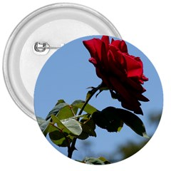 Red Rose 2 3  Buttons by trendistuff