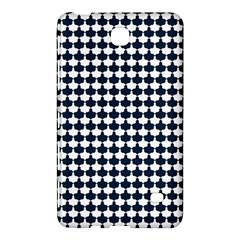 Navy And White Scallop Repeat Pattern Samsung Galaxy Tab 4 (7 ) Hardshell Case  by PaperandFrill
