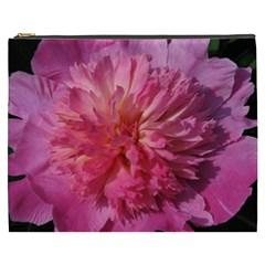 Paeonia Coral Cosmetic Bag (xxxl)  by trendistuff