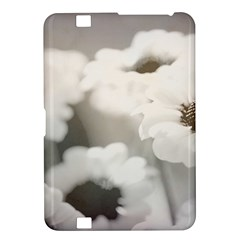 Black And White Flower Kindle Fire Hd 8 9  by trendistuff