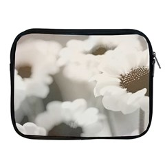 Black And White Flower Apple Ipad 2/3/4 Zipper Cases by trendistuff