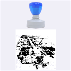 Washington Dc Rubber Round Stamps (large) by trendistuff
