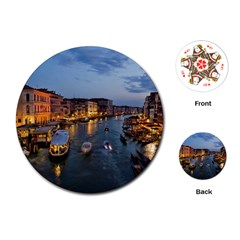 VENICE CANAL Playing Cards (Round)  by trendistuff