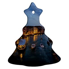 VENICE CANAL Christmas Tree Ornament (2 Sides) by trendistuff