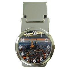 Paris From Above Money Clip Watches by trendistuff