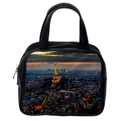 Paris From Above Classic Handbags (one Side) by trendistuff
