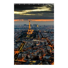 PARIS FROM ABOVE Shower Curtain 48  x 72  (Small)  by trendistuff