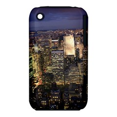 New York 1 Apple Iphone 3g/3gs Hardshell Case (pc+silicone) by trendistuff