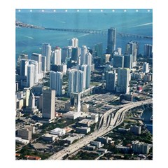 Miami Shower Curtain 66  X 72  (large)