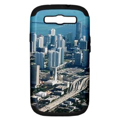 Miami Samsung Galaxy S Iii Hardshell Case (pc+silicone) by trendistuff