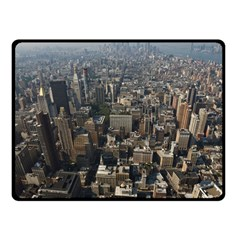 Manhattan 2 Fleece Blanket (small) by trendistuff