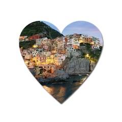 MANAROLA ITALY Heart Magnet by trendistuff