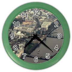 London Color Wall Clocks by trendistuff
