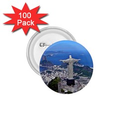 CHRIST ON CORCOVADO 1.75  Buttons (100 pack)  by trendistuff