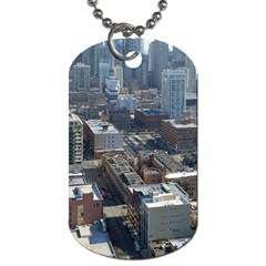 Chicago Dog Tag (two Sides) by trendistuff