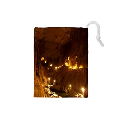 SKOCJAN CAVES Drawstring Pouches (Small)  by trendistuff