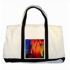 Reed Flute Caves 4 Two Tone Tote Bag  by trendistuff