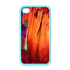 Reed Flute Caves 4 Apple Iphone 4 Case (color) by trendistuff