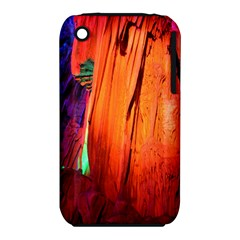 Reed Flute Caves 4 Apple Iphone 3g/3gs Hardshell Case (pc+silicone) by trendistuff