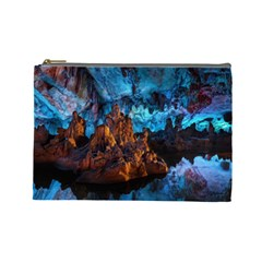 Reed Flute Caves 1 Cosmetic Bag (large)  by trendistuff