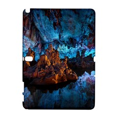Reed Flute Caves 1 Samsung Galaxy Note 10 1 (p600) Hardshell Case by trendistuff