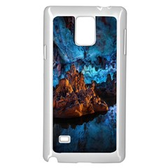 Reed Flute Caves 1 Samsung Galaxy Note 4 Case (white) by trendistuff