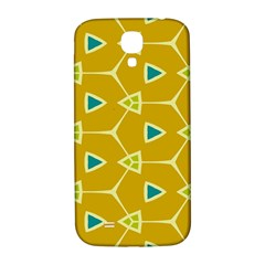 Connected Trianglessamsung Galaxy S4 I9500/i9505 Hardshell Back Case by LalyLauraFLM