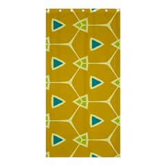 Connected trianglesShower Curtain 36  x 72  by LalyLauraFLM
