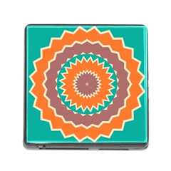 Hypnotic Star			memory Card Reader (square) by LalyLauraFLM