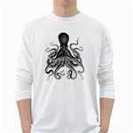 Vintage Octopus Long Sleeve T-Shirt