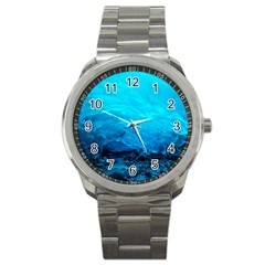 Mendenhall Ice Caves 3 Sport Metal Watches by trendistuff