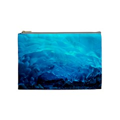 Mendenhall Ice Caves 3 Cosmetic Bag (medium)  by trendistuff