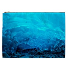 Mendenhall Ice Caves 3 Cosmetic Bag (xxl)  by trendistuff