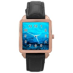 Mendenhall Ice Caves 3 Rose Gold Watches by trendistuff