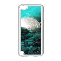 Mendenhall Ice Caves 2 Apple Ipod Touch 5 Case (white) by trendistuff
