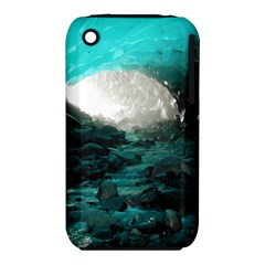 MENDENHALL ICE CAVES 2 Apple iPhone 3G/3GS Hardshell Case (PC+Silicone) by trendistuff
