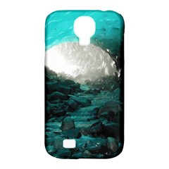 Mendenhall Ice Caves 2 Samsung Galaxy S4 Classic Hardshell Case (pc+silicone) by trendistuff