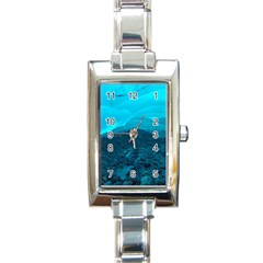 Mendenhall Ice Caves 1 Rectangle Italian Charm Watches by trendistuff